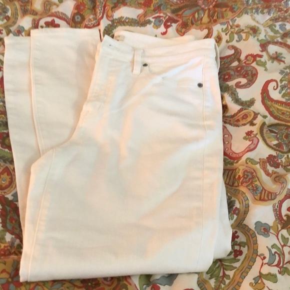 NWOT white skinny jeans